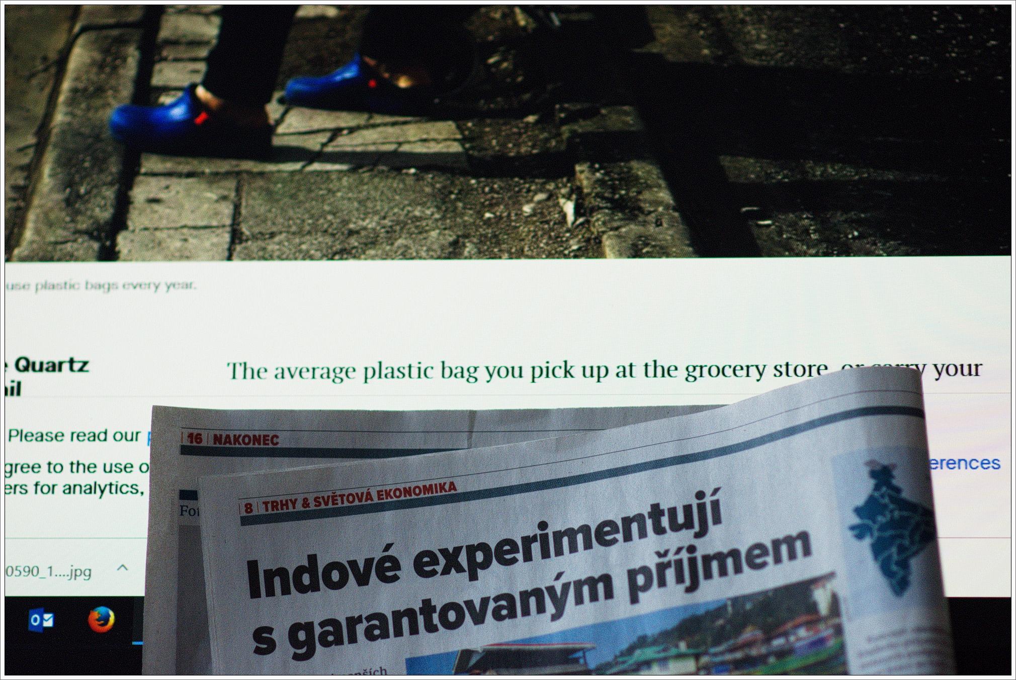 24.1.2019 Praha, 8 až 10 hodin v práci. Výše uvedená fotka z z práce na článku o Sikkimu.