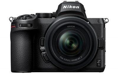 Nová bezzrcadlovka od Nikonu: Jaké jsou parametry Nikonu Z5